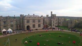 Warwick Castle;; Στοκ εικόνες με δικαίωμα ελεύθερης χρήσης