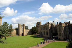 Warwick Castle Stock Photo
