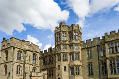 Warwick Castle architecture Royalty Free Stock Photos