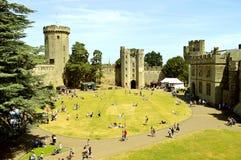 Warwick Castle-binnenland royalty-vrije stock foto