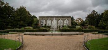 Warwick Castle. Botanic Garden in  Warwick Castle Stock Images