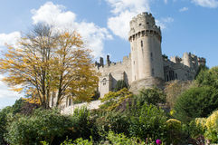 Warwick Castle and Caesar's Tower Stock Photo