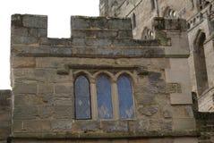 Warwick Castle details in England Stock Photo