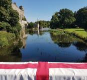 Warwick Castle England stockbilder