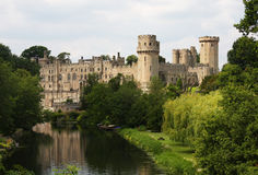 Warwick Castle in England Stock Images