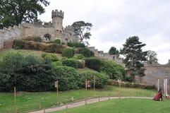 Warwick Castle in England Stock Photos