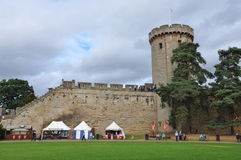 Warwick Castle in England Royalty Free Stock Images