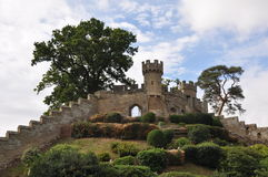 Warwick Castle in England Stock Photo