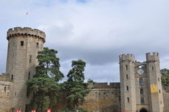 Warwick Castle in England Royalty Free Stock Image
