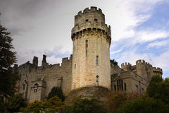 Warwick castle, Guy's tower Stock Photos