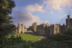 Warwick Castle historique, Angleterre, R-U Image stock