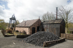 Victorian Coal Mine Royalty Free Stock Photo