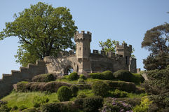 Warwick Castle - The Mound Stock Photography