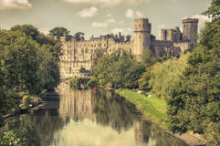 Warwick castle Stock Photography