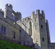 Warwick Castle - porthus i Warwick, Warwickshire, UK royaltyfri bild
