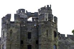 Warwick Castle - porttorn/porthus i Warwick, Warwickshire, UK fotografering för bildbyråer