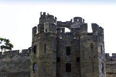 Warwick Castle - porttorn/porthus i Warwick, Warwickshire, UK arkivfoto