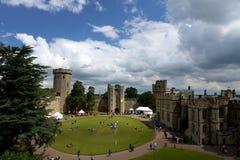 Warwick Castle, Regno Unito Fotografia Stock