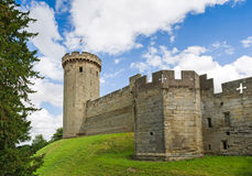 Warwick castle tower Stock Image
