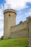 Warwick castle tower Stock Photo