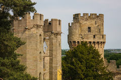 Warwick castle, UK Royalty Free Stock Photography