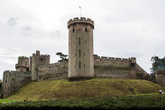 Warwick Castle. In   United Kingdom Stock Images
