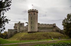 Warwick Castle. In   United Kingdom Royalty Free Stock Photo