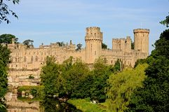 Warwick castle. Royalty Free Stock Photography