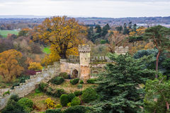 Warwick Castle wall Royalty Free Stock Photography
