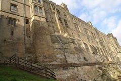 Warwick Castle in Warwick, England, Europe Stock Images