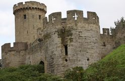 Warwick Castle, Warwickshire, England Stock Photos