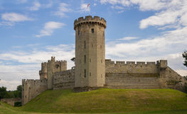 Warwick Castle,Warwickshire, England. Warwick Castle is a medieval castle developed from an original built by William the Conqueror in 1068. Warwick is the Stock Images