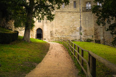 Warwick castle, Watergate tower. Royalty Free Stock Photo