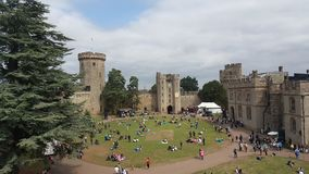 Warwick Castle royalty free stock image