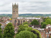 Warwick Cathedral Stock Photography