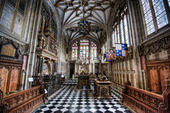 Warwick Cathedral. Beauchamp Chapel in Collegiate Church of St Mary, Warwick Stock Photography