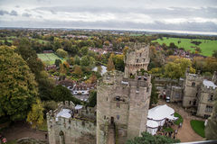 Warwick City. In   United Kingdom Royalty Free Stock Images
