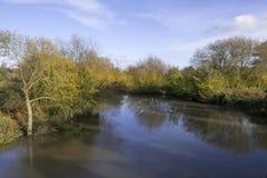 Warwick di avon del fiume Fotografia Stock