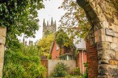 Warwick, England lizenzfreies stockfoto