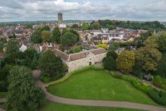 Warwick Förenade kungariket - September 19, 2016 Arkivbilder