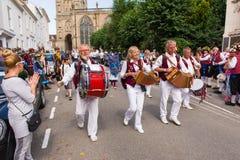 34. Warwick Folk Festival Stockbilder