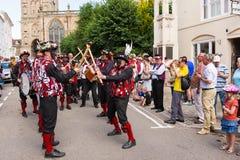 34. Warwick Folk Festival Stockbild