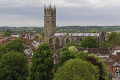 Warwick-Kirche Lizenzfreie Stockfotos