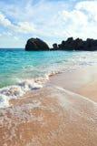 Warwick Long Bay Beach Bermuda Royalty Free Stock Photos