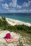 Warwick Long Bay Bermuda stränder arkivbilder