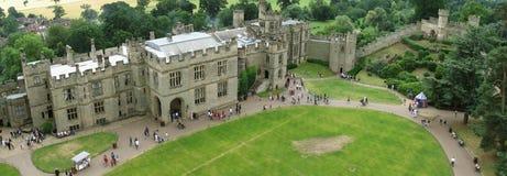 Warwick slott Royaltyfria Foton