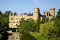 Warwick slott Arkivbilder