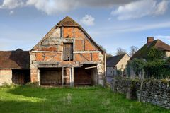 Warwickshire barn Royalty Free Stock Photo