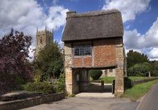 Warwickshire church Royalty Free Stock Photos
