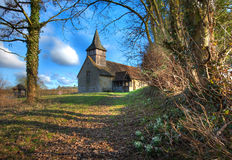 Warwickshire church Royalty Free Stock Images